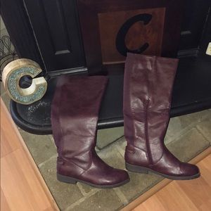 Gently Used Journee Collection Wine Boots!